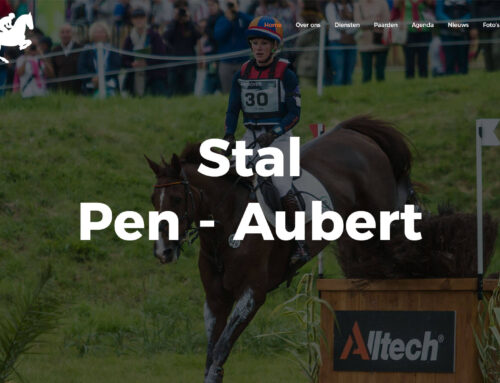Nieuwe website Stal Pen-Aubert